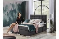 Łóżko kontynentalne Inez 160x200 łóżko tapicerowane do sypialni