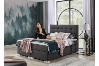 Łóżko kontynentalne Inez 160x200 łóżko z materacem