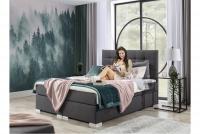 Łóżko kontynentalne Inez 160x200 wygodne łóżko z materacem