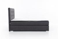 Łóżko kontynentalne Inez 160x200 tapicerowane łóżko