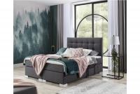 Łóżko kontynentalne Inez 160x200 łóżko z nóżkami