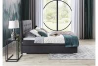Łóżko kontynentalne Inez 160x200 łżóko z wysokim wezgłowiem