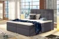 Łóżko kontynentalne Inez 160x200 łóżko w eoskórze