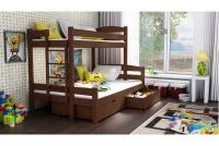 Poschodová posteľ Bruno PPS 001 90 x 200 Certifikát  Posteľ dla przedszklakow