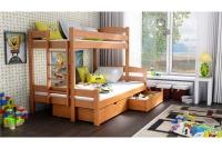 Poschodová posteľ Bruno PPS 001 90 x 200 Certifikát antresola