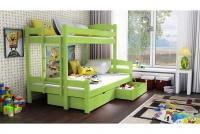 Poschodová posteľ Bruno PPS 001 90 x 200 Certifikát Posteľ dla chlopcow