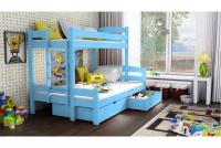Poschodová posteľ Bruno PPS 001 90 x 200 Certifikát Posteľ z drabinka