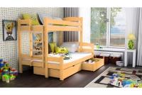 Poschodová posteľ Bruno PPS 001 90 x 200 Certifikát sntresola z dolnymi pokladami