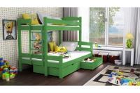 Poschodová posteľ Bruno PPS 001 90 x 200 Certifikát Posteľ sosnowe