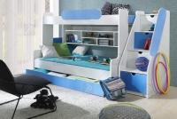 Łóżko piętrowe Segan nowoczesne łózko piętrowe