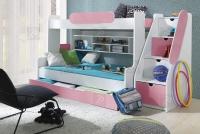 Łóżko piętrowe Segan łózko dla sióstr