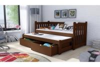 Łóżko dziecięce Swen wyjazdowe DPV 002 Certyfikat łózko piętrowe wyjazdowe