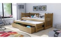 Łóżko dziecięce Swen wyjazdowe DPV 002 Certyfikat łóżko dziecięce sosnowe