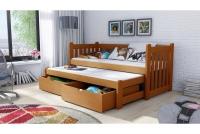 Łóżko dziecięce Swen wyjazdowe DPV 002 Certyfikat łóżko sosnowe
