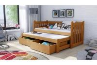 Łóżko dziecięce Swen wyjazdowe DPV 002 Certyfikat łózko dla dziewczynek