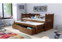 Łóżko dziecięce Swen wyjazdowe DPV 002 Certyfikat łózko dla bliźników