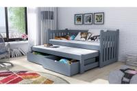 Łóżko dziecięce Swen wyjazdowe DPV 002 Certyfikat łóżko podwójne
