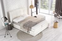 Łóżko tapicerowane z pojemnikiem Vesperum 120 x 200 łóżko tapicerowane z pojemnikiem
