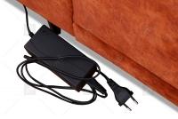 Narożnik z elektrycznie wysuwanym siedziskiem Focus - Promocja! Narożnik z elektrycznym siedziskiem