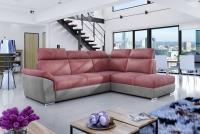 Rohová sedacia súprava Lopez Ružová rogowka