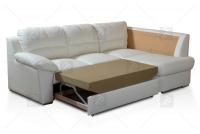 Narożnik Milano - Skóra   poduszki na rzepy