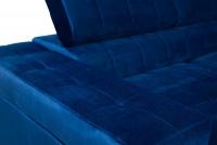Narożnik rozkładany do salonu Loris  narożnik niebieski