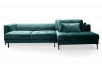 Narożnik z funkcją spania Luzi 2DL-REC/BK etap sofa ims