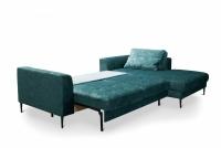 Narożnik z funkcją spania Luzi 2DL-REC/BK narożnik etap sofa luzi