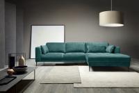 Narożnik z funkcją spania Luzi 2DL-REC/BK etap sofa narożniki