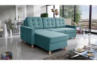 Narożnik z funkcją spania Viva Mini narożnik z poduszkami do salonu
