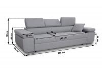 Nowoczesna sofa Annabelle