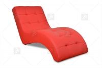 Szezlong Laguna  czerwony fotel