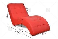 Szezlong Laguna  elegancki fotel do salonu
