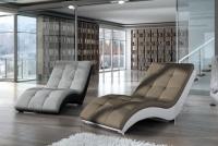 Nowoczesny szezlong wypoczynkowy Heaven wygodny fotel do salonu
