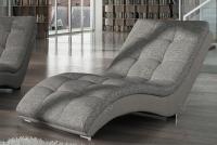 Nowoczesny szezlong wypoczynkowy Heaven fotel tapicerowany