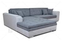 Moderná rohová sedacia súprava Sorento šedý duzy Rohová sedacia súprava