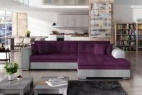 Moderná rohová sedacia súprava Sorento fialový Rohová sedacia súprava