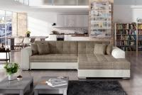 Moderná rohová sedacia súprava Sorento Rohová sedacia súprava w farbe capuccino