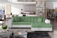 Moderná rohová sedacia súprava Sorento Zelený Rohová sedacia súprava
