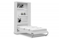 Półkotapczan pionowy 90x200 New Elegance - Biały połysk półkotapczan biały mat