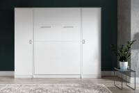 Półkotapczan pionowy 90x200 New Elegance - Biały połysk półkotapczan z szafą