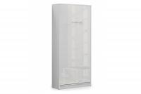 Półkotapczan pionowy 90x200 New Elegance - Biały połysk półkotapczan 90