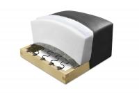 Rozkładany Fotel Amber z funkcją Relax - Tkanina wkład falisty