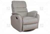 Rozkładany Fotel Amber z funkcją Relax - Tkanina fotel dla wysokich osób