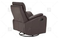 Rozkładany Fotel Amber z funkcją Relax - Tkanina fotel z mechanizmie typu glider