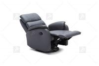 Rozkładany Fotel Amber z funkcją Relax - Tkanina fotel z dodatkowym podłokietnikiem