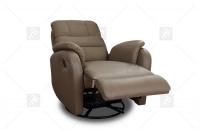 Rozkładany Fotel Amber z funkcją Relax - Tkanina fotel full relax
