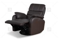Rozkładany Fotel Amber z funkcją Relax - Tkanina podnoszony fotel w skórze