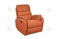 Rozkładany Fotel Amber z funkcją Relax - Tkanina fotel w tkaninie meblowej