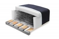 Sofa Amber - Skóra wkład sprężynowy